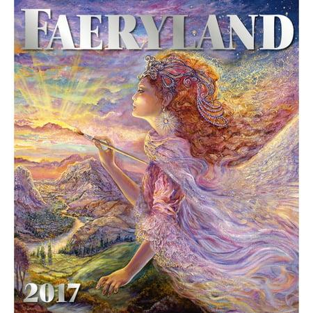 Faeryland Wall Calendar 2017 Fantasy Art By Palazzo Editions