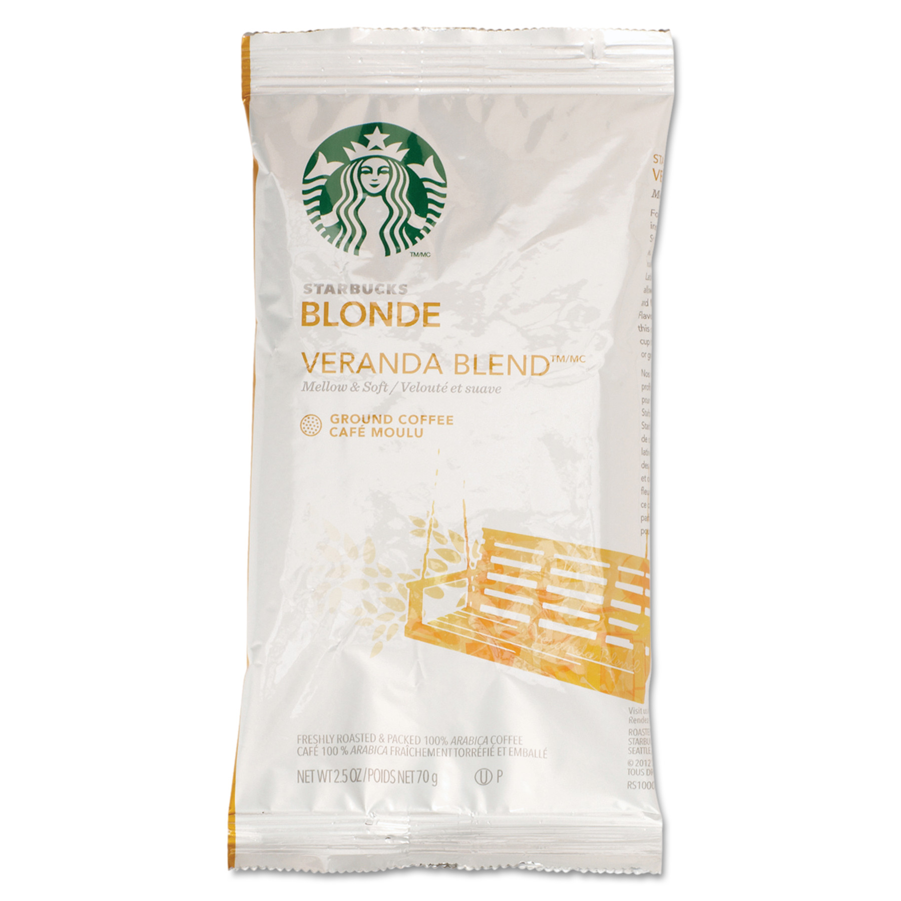 Starbucks Coffee, Veranda Blend, 2.5oz, 18 Box by STARBUCKS COFFEE COMPANY