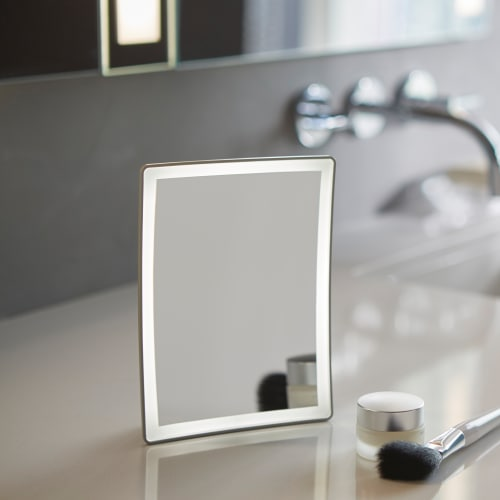 Robern CB-ENTICEDOCK Entice Magnification Mirror and Dock