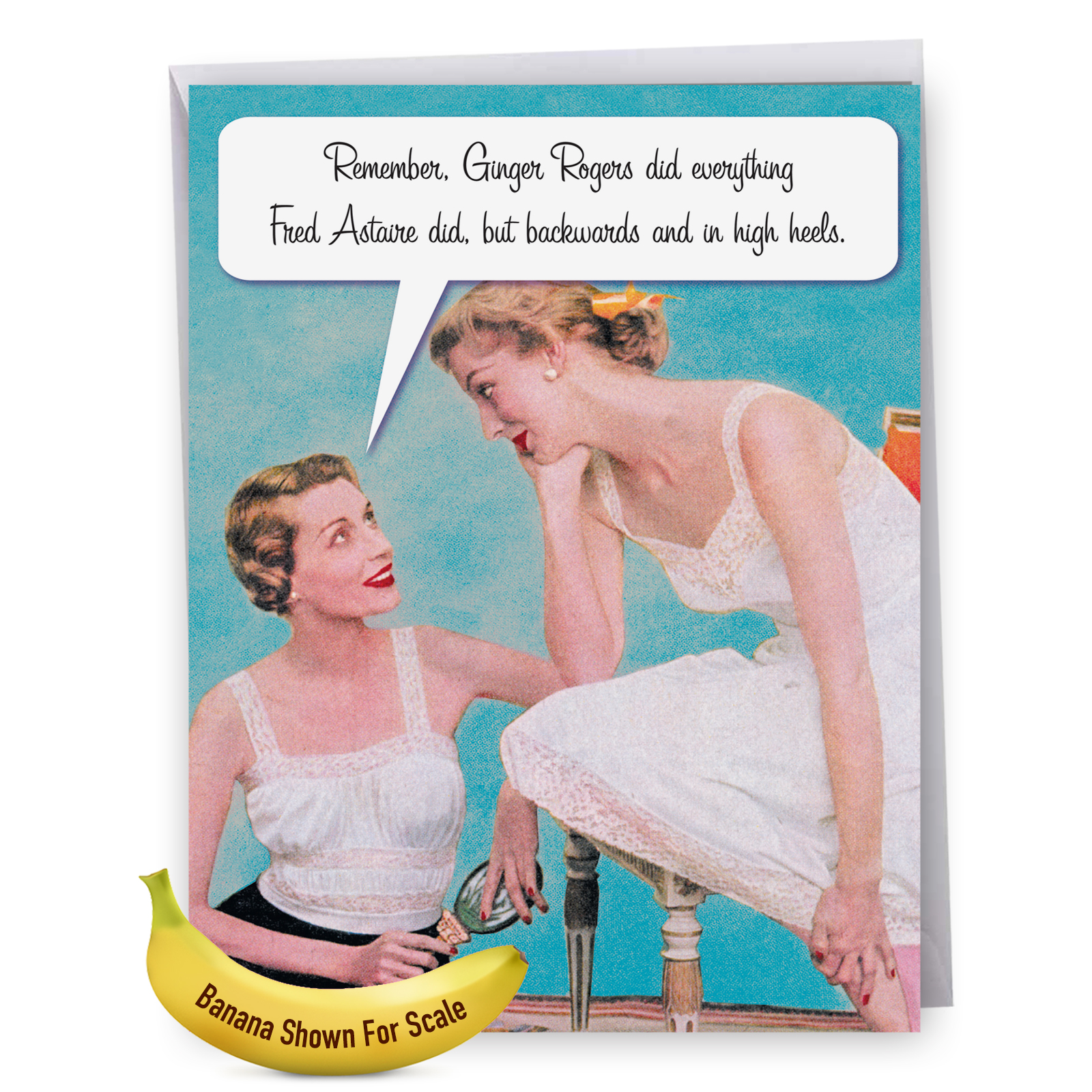 """""""J0073MDG Jumbo Funny Mother's Day Card: M is for Mother With Envelope, Large Greeting Card, NobleWorks Cards"""""""
