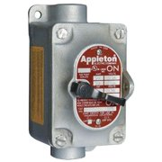APPLETON ELECTRIC EDSC11MC3 Motor Switch, 30A, 600V, FeedThru, Hub1/2, 3P
