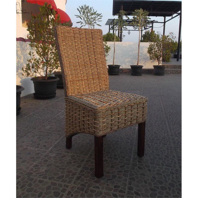 International Caravan Bali Bayu Woven Abaca Dining Chair (Set of 2) - image 1 of 2