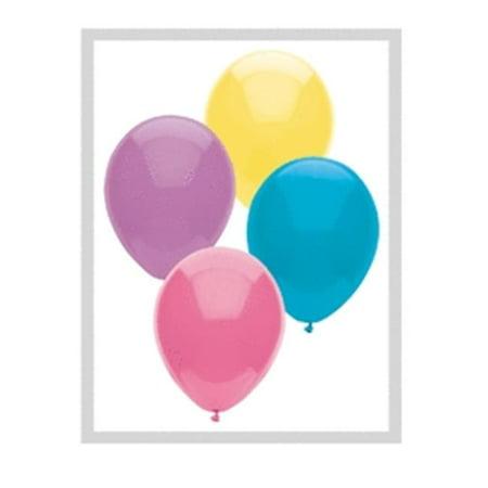 Mayflower 78048 11 in. Pastel BSA Latex Balloon Assortment (Pastel Balloons)
