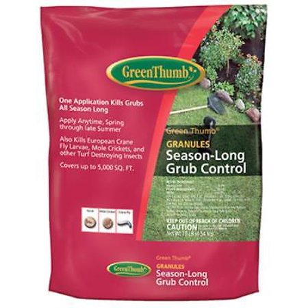 Green Thumb 6 LB 5,000 SQFT Coverage Season Long Grub Control