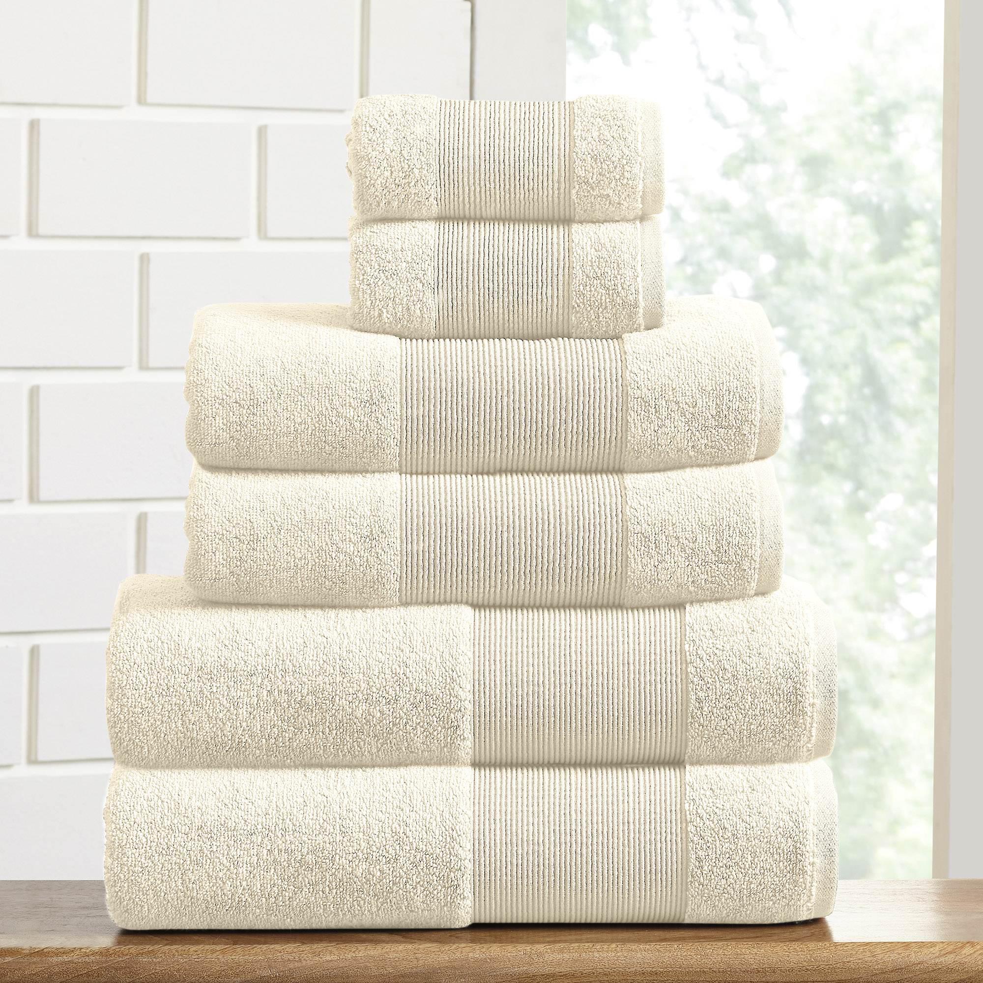 AirCloud 100% Cotton 6 Piece Luxury Towel Set