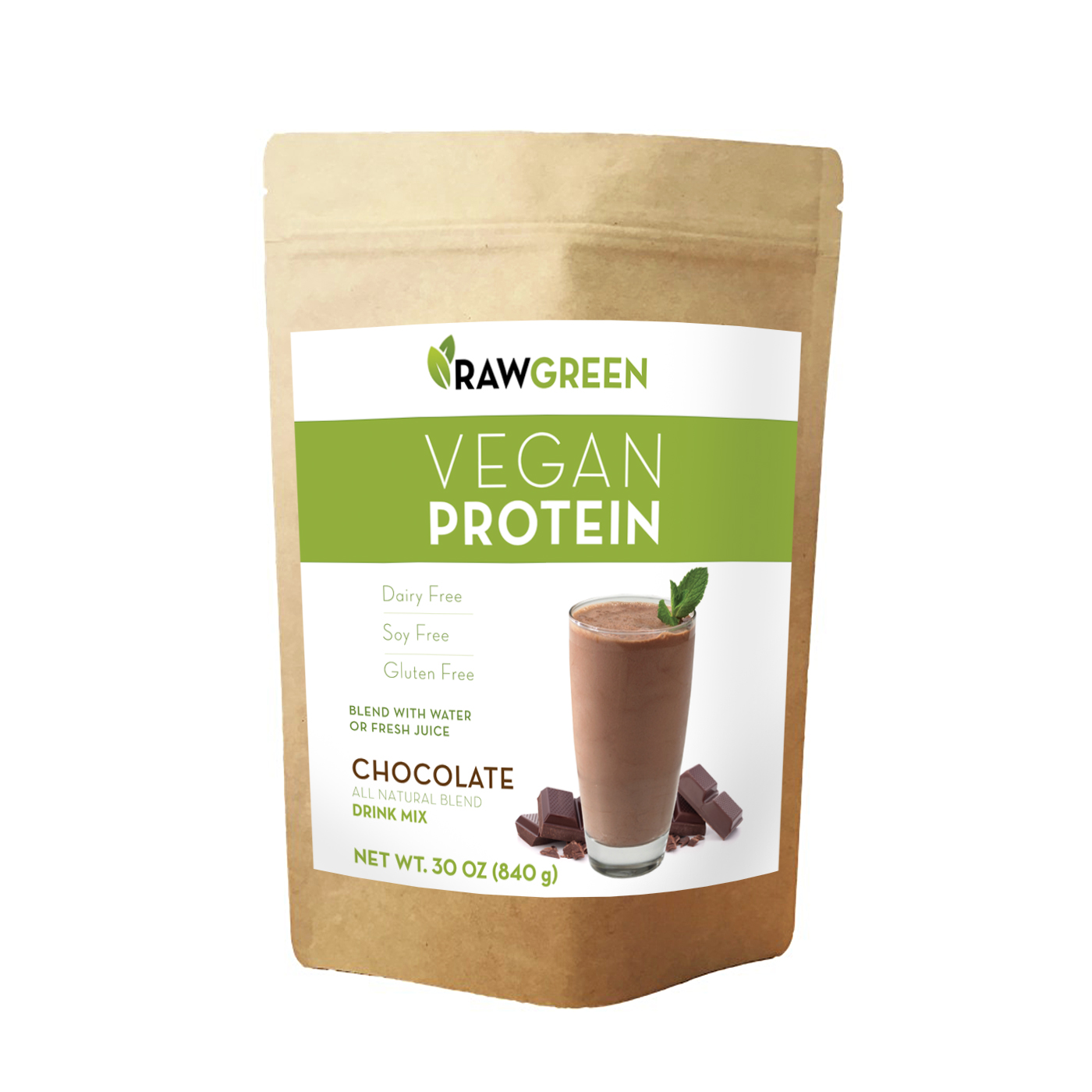 Conventional Vegan Protein Chocolate (1lbs)