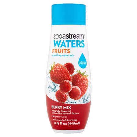 Sodastream Waters Berry Mix Sparkling Drink Mix  440Ml