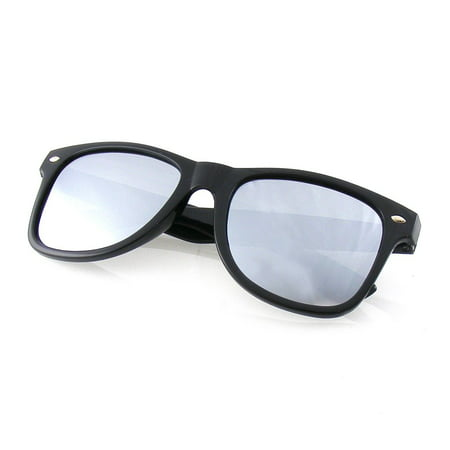 Emblem Eyewear - Trendy Sunglasses Vintage Mirror Lens New Men Women Fashion Frame Retro