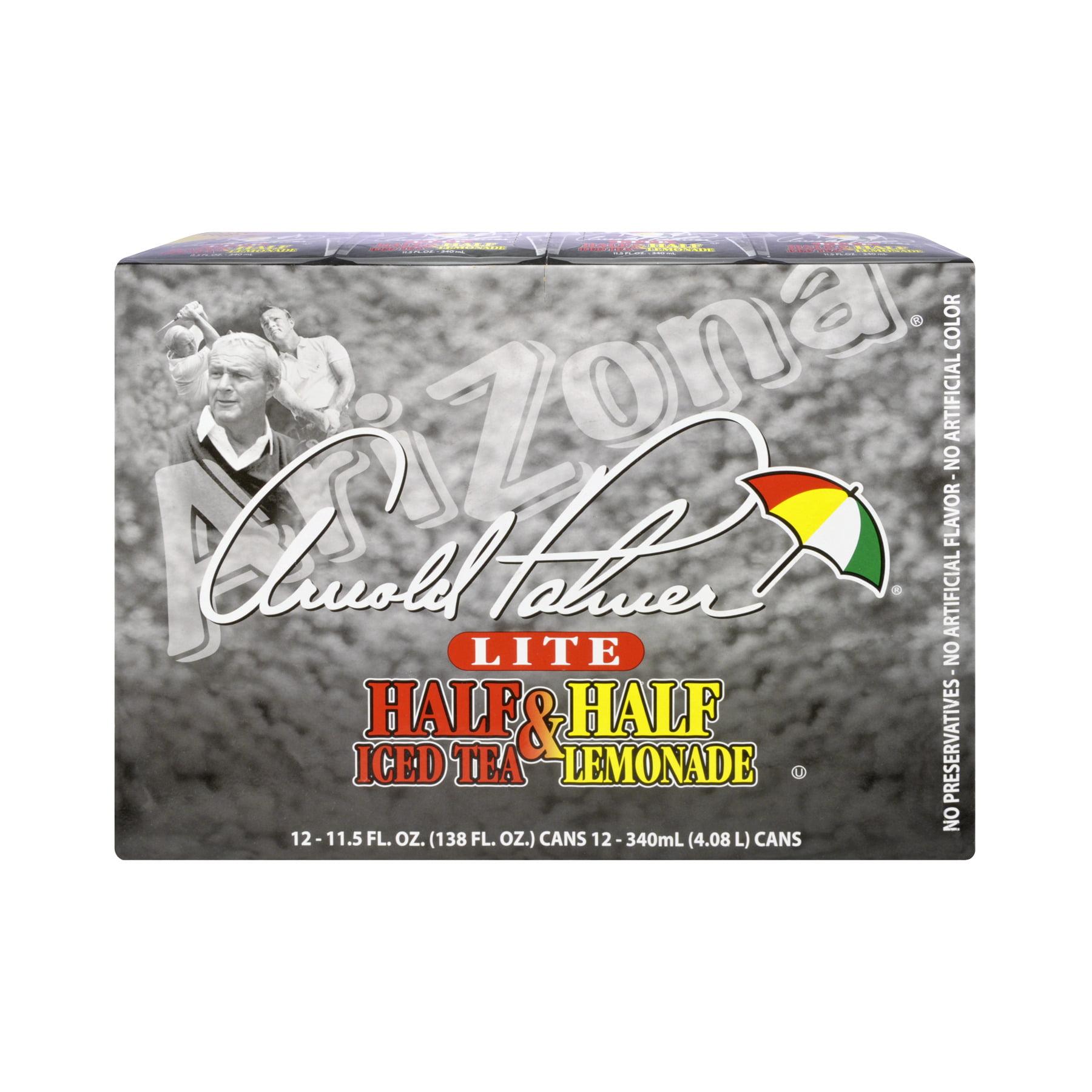 AriZona Arnold Palmer Half & Half Iced Tea Lemonade 12 PK, 138.0 FL OZ by AriZona Beverages USA