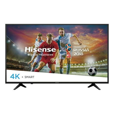"""Hisense 43"""" Class (42.5"""" diag.) UHD (2160P) Smart DLED TV (43H6E)"""