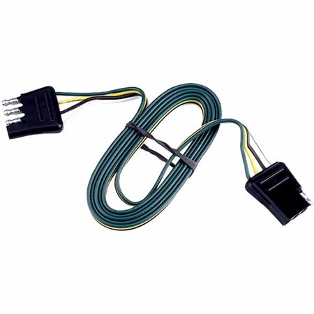 cequent 39600544 trailer wiring 4 way flat connector 24ft. Black Bedroom Furniture Sets. Home Design Ideas