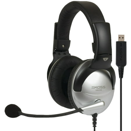 KOSS 178203 SB45 USB Communication Headset (Best Gaming Headset For All Platforms)