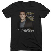 Person Of Interest I Know Mens Tri-Blend Short Sleeve Shirt