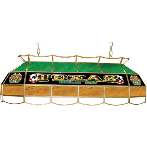 "Trademark Global Texas Hold 'em 40"" Stained Glass Billiard Table Light Fixture"
