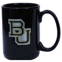 Baylor Bears 15oz Black Ceramic Mug