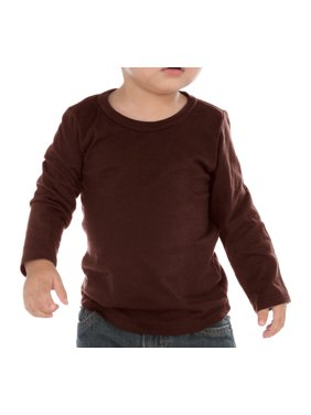 9b080562 Product Image Kavio IJC0455 Infants Crew Neck Long Sleeve-Blue-18M