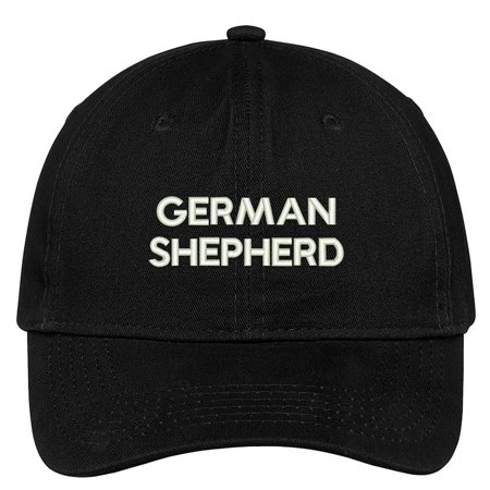 Trendy Apparel Shop German Shepherd Dog Breed Embroidered Dad Hat Adjustable Cotton Baseball Cap
