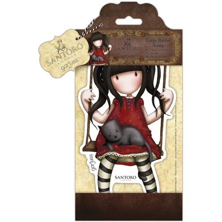 - Santoro's Gorjuss Large Rubber Stamps Ruby