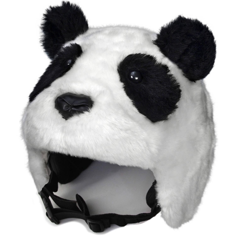 crazeeHeads Zee Zee the Panda Plush Helmet Cover by crazeeHeads