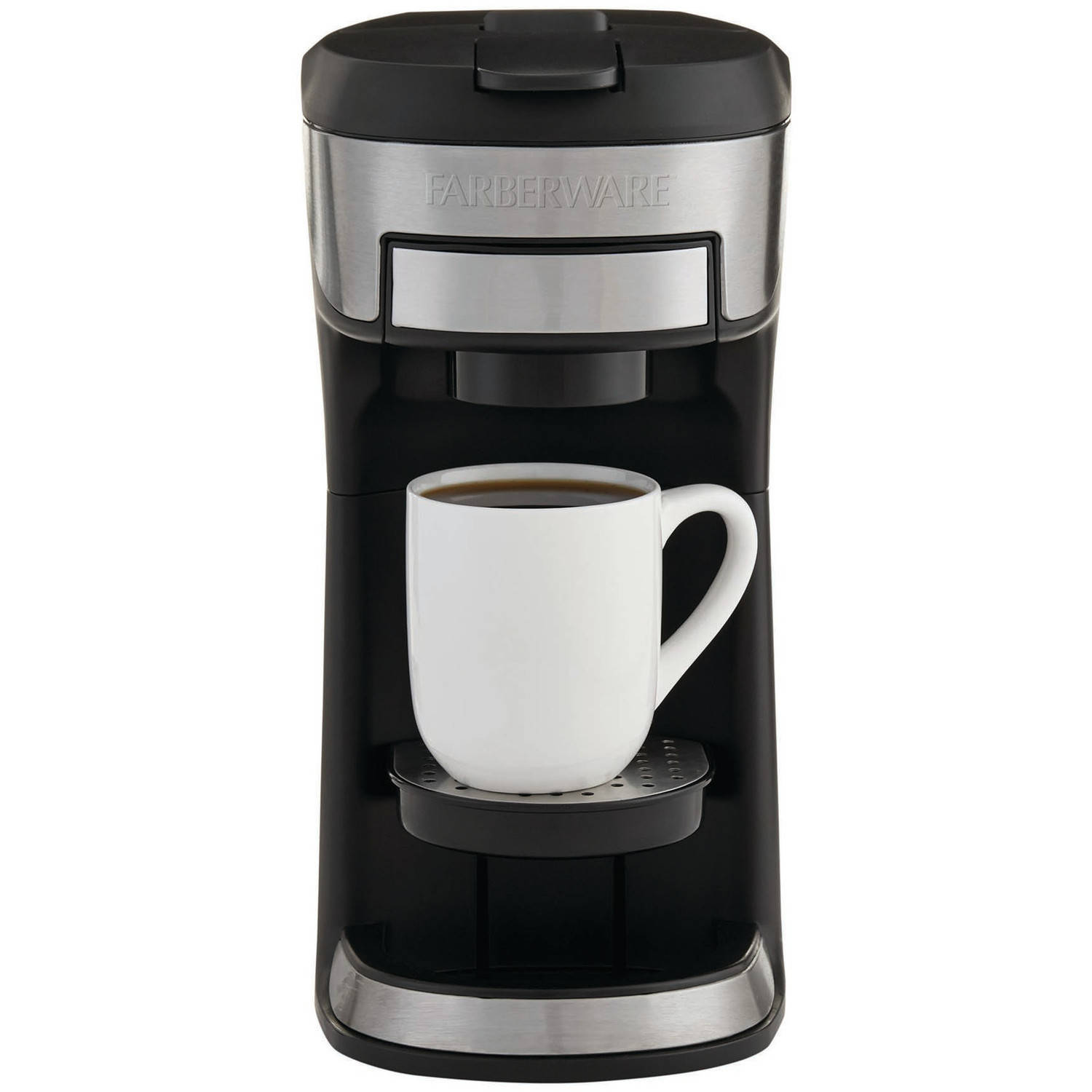 BELLA 14392 Dual Brew Single Serve Coffee Maker, Silver ...