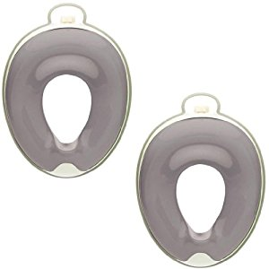Prince Lionheart WeePod Toilet Trainer, 2 Pack - Ash Grey