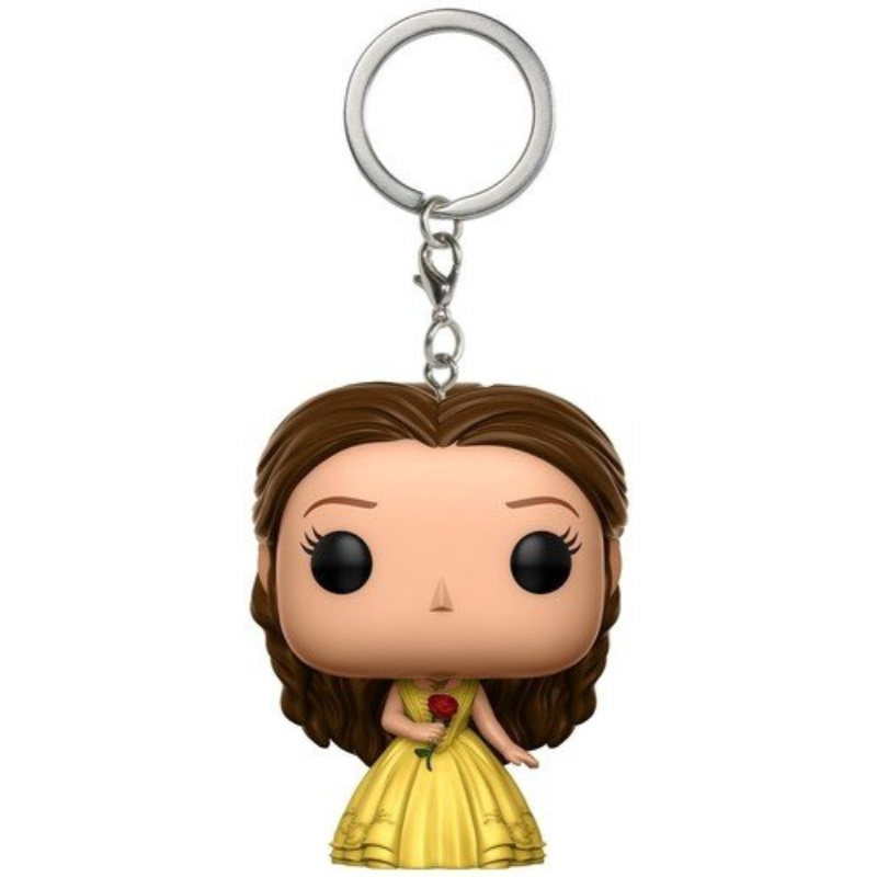 Funko Pop Keychain: Beauty & The Beast Yellow Gown Belle Toy Figure