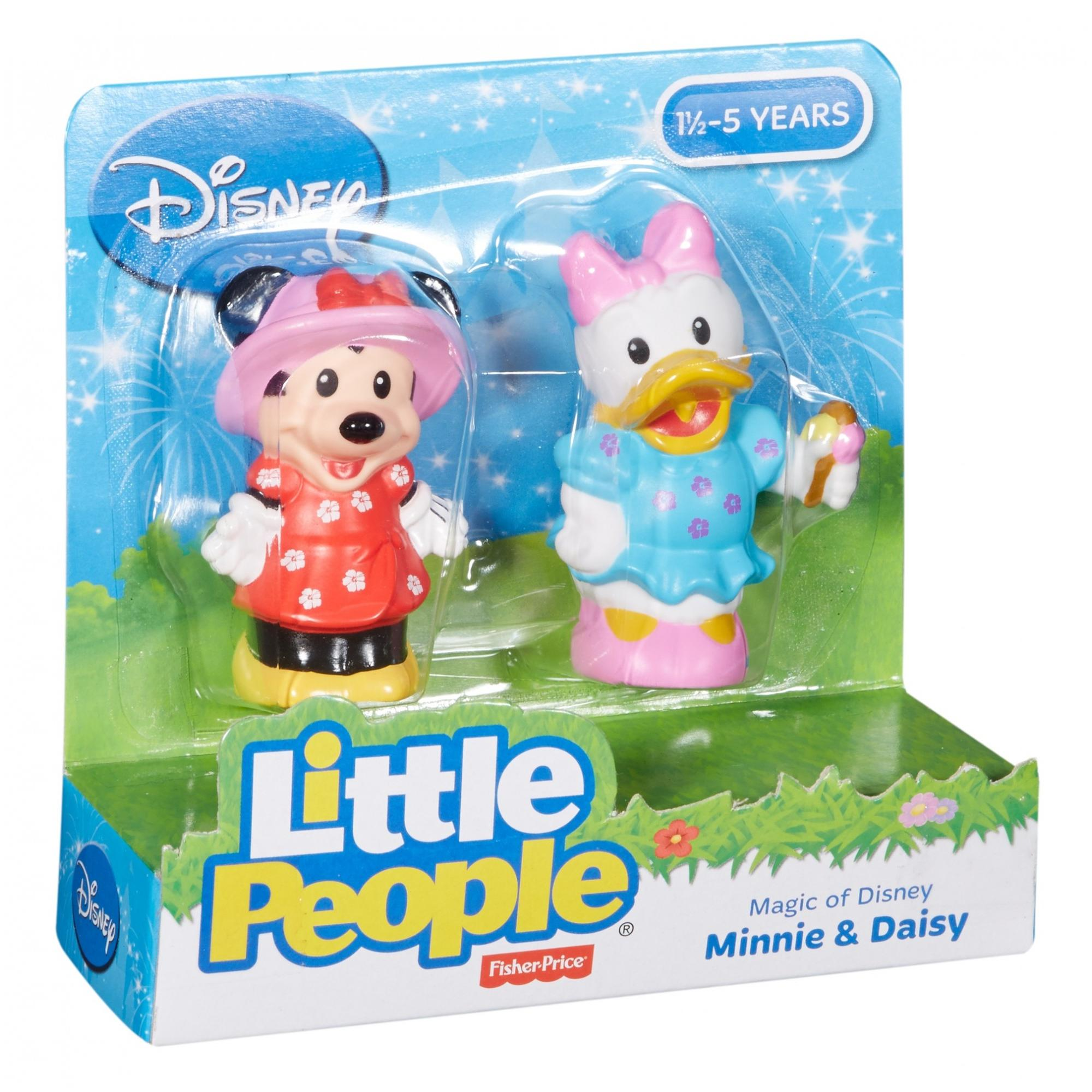 Magic of Disney Minnie & Daisy Buddy Pack By Little People - Walmart.com
