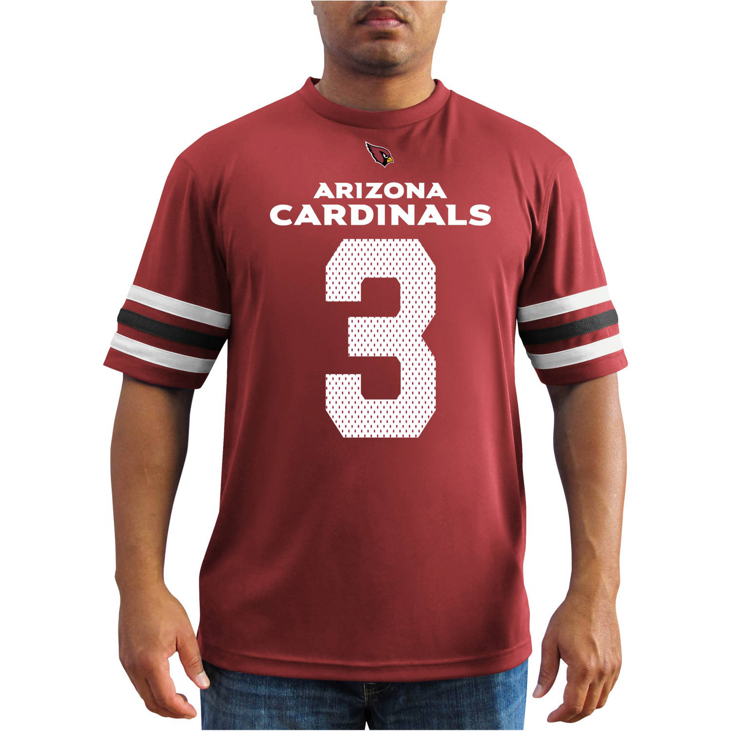 NFL Men's Arizona Cardinals C Palmer 3 Player Synthetic Fashion Tee