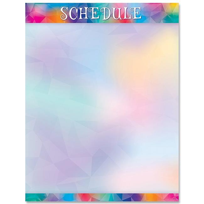 Creative Teaching Press CTP8630 Mystical Magical Schedule Chart