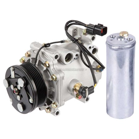 AC Compressor w/ A/C Drier For Mitsubishi Diamante 2000 2001 2002 2003
