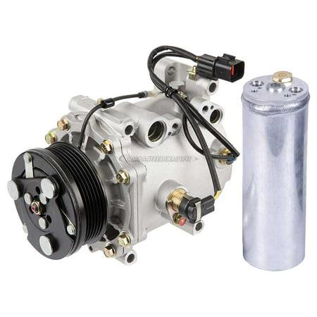 AC Compressor w/ A/C Drier For Mitsubishi Diamante 2000 2001 2002 2003 2002 Mitsubishi Diamante Parts