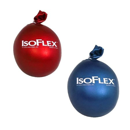 IsoFlex Patriotic Red and Blue Set of 2 Stress Ball Hand -