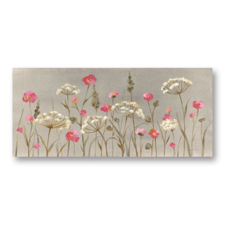Gango Home Decor Contemporary Delicate Garden by Silvia Vassileva (Printed on Paper); One 18x8in Unframed Paper Poster