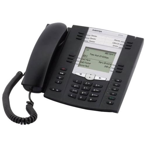 Aastra 6735i IP Phone - Cable - Desktop, Wall Mountable - 1 x Total Line - VoIP - Caller ID - Speakerphone - 2 x Network (RJ-45) - Power Over Ethernet
