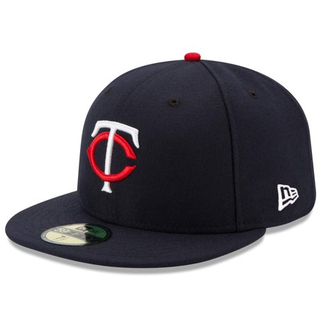 f99dbd7f8e5 Minnesota Twins New Era Home Authentic Collection On-Field 59FIFTY Fitted  Hat - Navy - Walmart.com