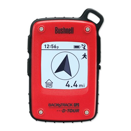 Bushnell BackTrack D-Tour Personal GPS Compass Navigation Tracking Device, Red