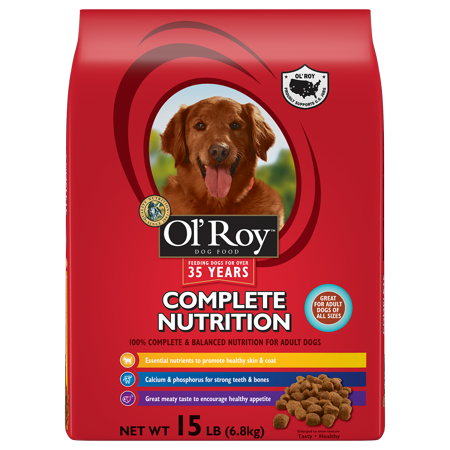 Ol Roy Complete Nutrition Dog Food  Adult  15 Lb