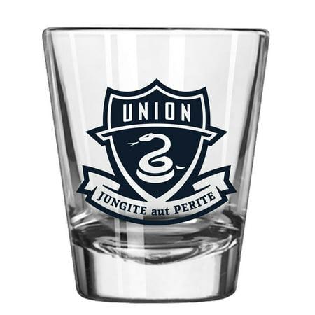 Philadelphia Union 2oz. Collectible Game Day Shot Glass - No Size - Customizable Shot Glasses No Minimum