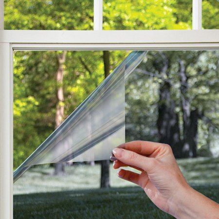 Gila Mirror Film (gila prs361 daytime privacy window film, 36-inch x 15-feet, mirror)