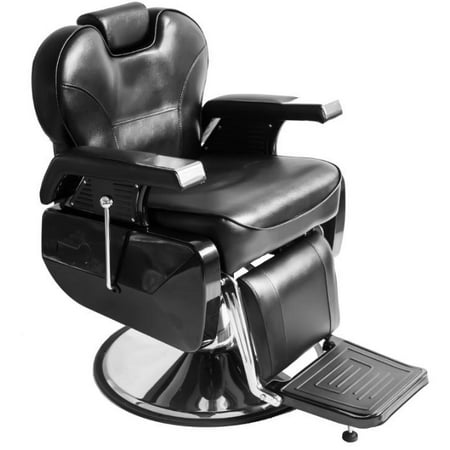 Superb Taft Barber Chair Black Reclining Barber Chair W Adjustable Height Adjustable Head Rest And Comfortable Wide Seat For Barbershop Beauty Salon All Creativecarmelina Interior Chair Design Creativecarmelinacom