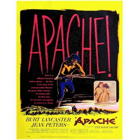 Apache Movie Poster Print  27 X 40