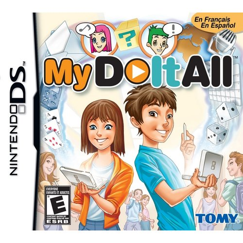 My Do It All, Tomy, NintendoDS, 053941702410