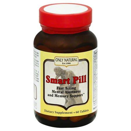 Natural Smart Pill - Only Natural Only Natural  Smart Pill, 60 ea