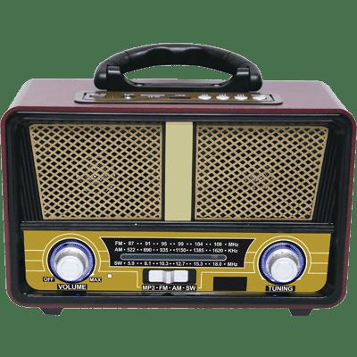 QFX RETRO-90 Vintage Style Portable Radio