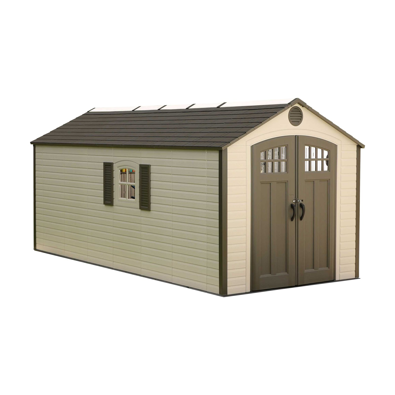 Lifetime 8' X 17.5' Outdoor Storage Shed