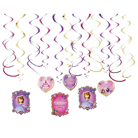 Sofia the First Hanging Party Decorations, Party Supplies - Sofia The First Table Cloth