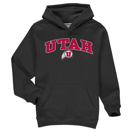 Utah Utes Fanatics Branded Youth Campus Pullover Hoodie - Black](Costume Shops In Utah)