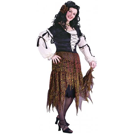 Gypsy Rose Adult Costume - Plus Size 1X/2X