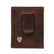 Ariat Accessories Men's Bfold/Clip Wallet BROWN O/S
