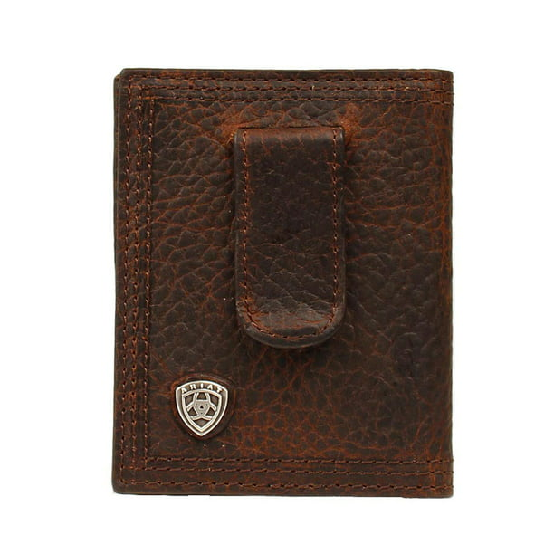 Ariat Accessories Men's Bfold/Clip Wallet BROWN O/S